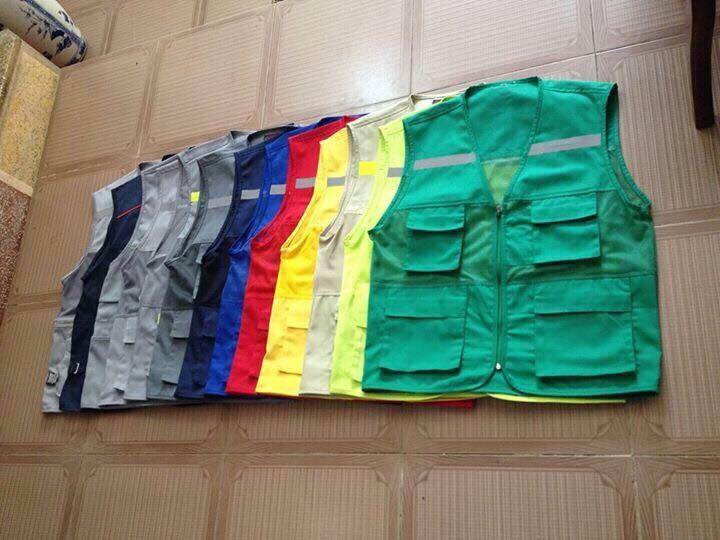Áo ghi lê bảo hộ giá rẻ các màu