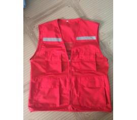 Áo ghile kỹ sư màu đỏ
