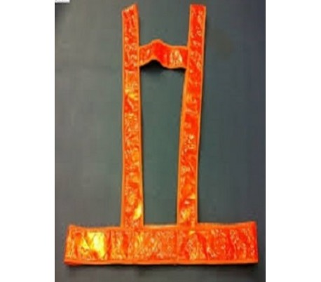 Áo dây phản quang màu cam giá rẻ