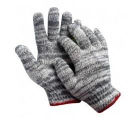 Găng tay len sợi bảo hộ lao động giá rẻ màu muối tiêu