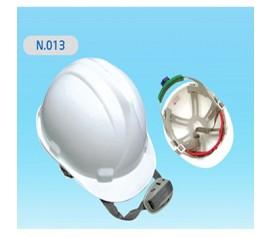 Mũ nhựa bảo hộ lao động nút vặn N013