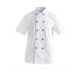 Áo bếp tay ngắn
