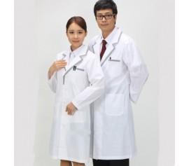 Áo blu bác sĩ tay dài may dài