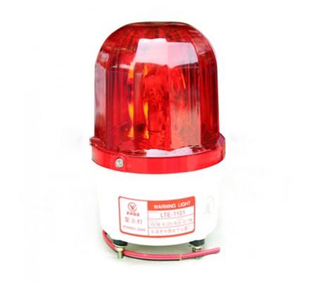Đèn báo công trường thi công dùng bình acquy 12V/24V