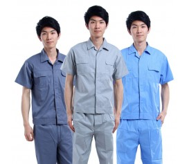 Quần áo bảo hộ lao động kaky tay ngắn