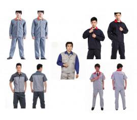 Đồng phục bảo hộ lao động may phối