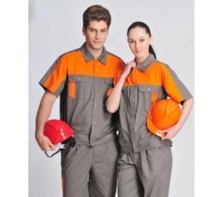 Đồng phục bảo hộ lao động may phối An Bình